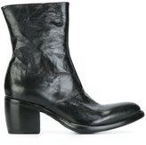 Rocco P. chunky heel boots