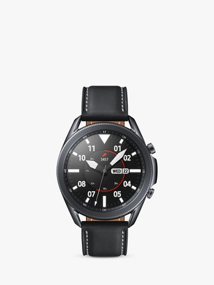 Samsung Galaxy Watch 3, Bluetooth, 45mm, Stainless Steel with Leather Strap