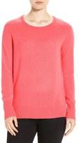 Halogen Crewneck Lightweight Cashmere Sweater (Regular & Petite)