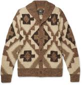 Rrl - Beacon Shawl-collar Knitted Cardigan