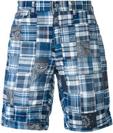 Polo Ralph Lauren plaid pattern shorts - men - Cotton - 32