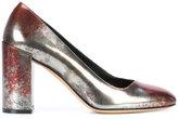 Salvatore Ferragamo Arezzo block heel pumps