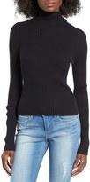BP Women's Rib Knit Turtleneck Sweater