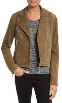 Rag & Bone Women's Mercer Suede Moto Jacket