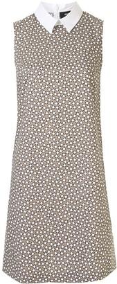 Paule Ka Geometric Print Mini Dress