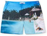 Orlebar Brown Bulldog Mid-Length Printed Swim Shorts
