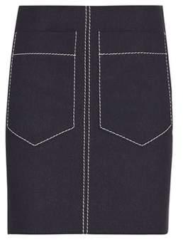 Chloé Crêpe skirt