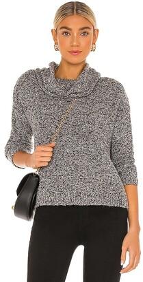 Sanctuary Boucle Cowl Neck Sweater