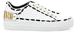 Moschino Men's Logo Low-Top Sneakers