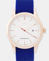 Rose Gold-White & Navy Watch