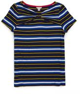Nautica Striped Twist-Neck Top