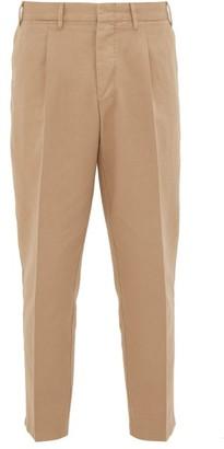 The Gigi - Tonga Cotton-twill Trousers - Beige