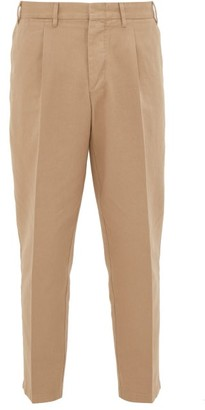 BEIGE The Gigi - Tonga Cotton-twill Trousers - Mens