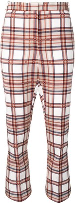 Rokh Checked Trousers