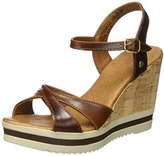 Panama Jack Estrella Clay, Women's Wedge Heels Sandals,(39 EU)