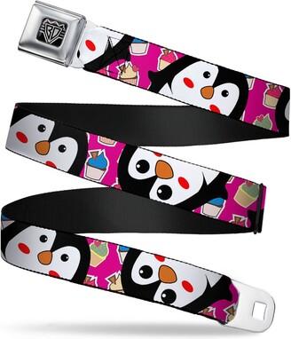 Buckle Down Buckle-Down Buckle-Down Seatbelt Belt Penguins Regular Accessory