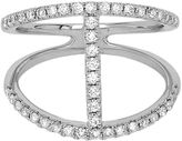 JCPenney FINE JEWELRY LIMITED QUANTITIES 1/2 CT. T.W. Diamond 14K White Gold H-Ring