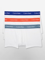 Calvin Klein Cotton Stretch 3 Pack Low Rise Trunk