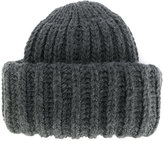 Federica Moretti ribbed knit beanie - women - Acrylic/Virgin Wool - One Size
