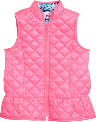 Lilly Pulitzer Melanie Reversible Quilted Vest