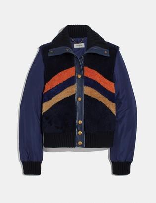 Coach Retro Shearling Jacket
