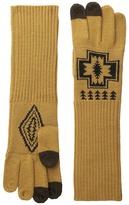 Pendleton Long Gloves Wool Gloves