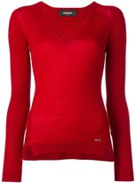 DSQUARED2 classic V-neck jumper - women - Wool - S