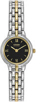 Citizen Eco-Drive Mens Two-Tone Watch EW9334-52E