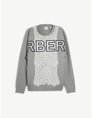 Burberry Kerry logo-print cotton sweatshirt 12-14 years