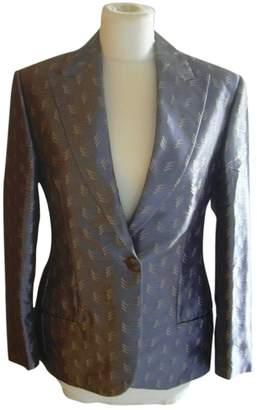 N. Istante \N Silver Silk Jackets