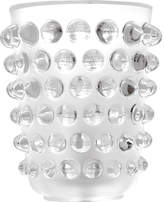 Lalique Mossi crystal vase 21cm, Clear