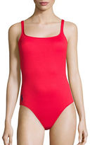 Polo Ralph Lauren Iconic Polo Core One-Piece Martinique Tank Swimsuit