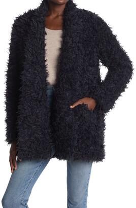 Love Token Missy Shaggy Faux Fur Coat