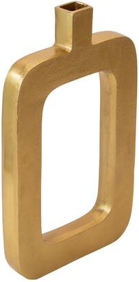 Sagebrook Home Metal Cutout Vase