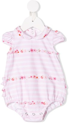 Lapin House Striped And Floral Print Body