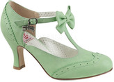 Women's Pin Up Couture Flapper 11 T-Strap Mary Jane