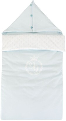Dolce & Gabbana Kids Logo Print Sleeping Bag