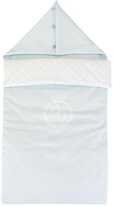 Dolce & Gabbana Kids Logo Print Sleeping Bag