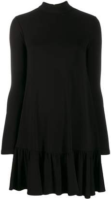 Elisabetta Franchi ruffled hem mini dress