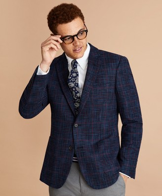Brooks Brothers Wool-Blend Plaid Sport Coat