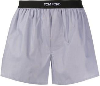 Tom Ford Logo Band Boxer Shorts