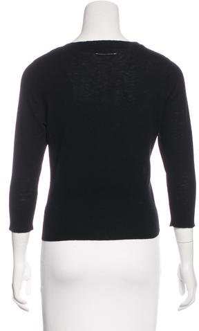 Nili Lotan Wool Button-Up Cardigan