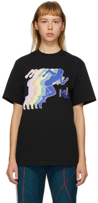Martine Rose SSENSE Exclusive Black Peace Print T-Shirt