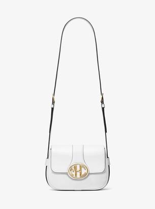Michael Kors Monogramme Small Leather Shoulder Bag