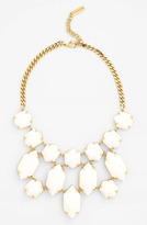 Vince Camuto 'Bright Gems' Faceted Resin Bib Necklace