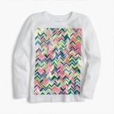 J.Crew Girls' zigzag T-shirt