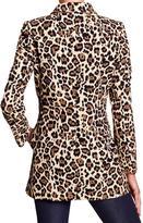 Banana Republic Factory Leopard Swing Jacket