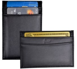 Royce Leather Royce Minimalist Credit Card Case Wallet in Genuine Leather
