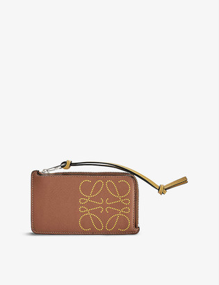 Loewe Brand leather coin purse
