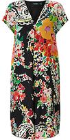 Lauren Ralph Lauren Kokichi Floral Print Dress, Black Multi